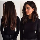 #frisurenschulterlang #frisuren medium length # medium length hair # shoulder length