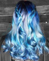 💎💎💿Arctic Frost💿💎💎 #flashbackfriday sur ce beau bleu …   – Hair ❤