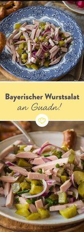 Es geht um die Wurst! Bayrischer Wurstsalat