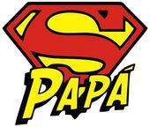 Poster 'Fête des Pères – Super Papa' par ironsloth