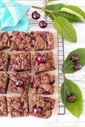 Schoko Kirschkuchen Mit Streuseln Dinkelliebe Backblog Foodblog Genussblog In 2020 Kirschkuchen Mit Streusel Streuselkuchen Mit Kirschen Kirschkuchen