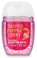 Hand Sanitizer Bath Body Works Twisted Peppermint Bath And