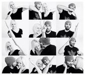 Eine gute Idee, wenn Sie ein kreatives Foto für zwei Personen machen möchten   – Geschenk Ideen
