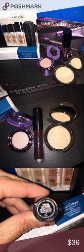 Get up & glow MAKEUP sampler Anastasia urban decay Makeup kit includes travel mi…