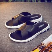 Men's Slippers Korean Style Fashion Flip Flops Male Beach Shoes Summer Slipper Non-slip Men Sandals Massage Slippers