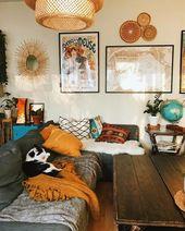 Neue stilvolle böhmische Wohnkultur-Ideen #bedroo…