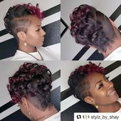 Stil von @stylz_by_shay von Salon und Spa Galleria Arlington in Arlington, Texa … – #arlington #astylz #galleria #salon – #new