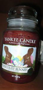 Bougie Grande Jarre Yankee Candle Bunny Chocolat Large Jar Yankee Candle