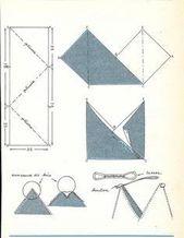 Ein Muster: 2 sehr einfache Polsterbeutel – #bag #…