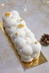 My vanilla Christmas log insert caramelo salado con mantequilla, dos perfumes clásicos …
