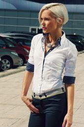 Frau 7 Camicie. Stil & Originalität