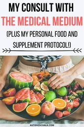 My Reading with Anthony William, Medical Medium (Plus My Personal Protocol!) 1