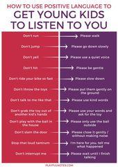 Die eine einfache Änderung, die junge Kinder dazu bringt, Ihnen mehr zuzuhören   – useful tipps