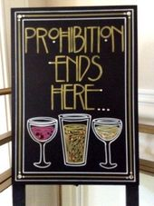 Image result for prohibition era wedding theme   – 1920s party