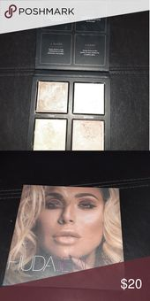 Huda Magnificence 3D Highlighter Model new, swatched as soon as, seize it whereas it's chea…