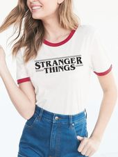 This totally classic ringer tee: