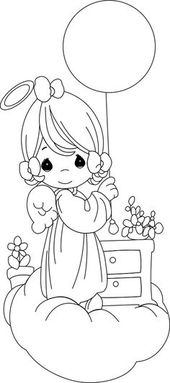 Untitled Precious Moments Coloring Pages Angel Coloring Pages Coloring Pages