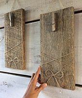 Zurückgefordert Holz Bilderrahmen, Bauernhaus Wanddekoration, Distressed Holzrahmen, Barnwood Wandbehang, Holzbilderrahmen, Barnwood Frames