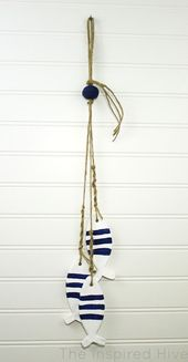 May Monthly DIY Challenge- Air Dry Clay Nautical Decor