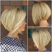 Stylish And Eye-Catching 19 Graduated Bob Haircuts – www.laddiez.com/… – #Eyec…