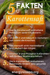 27 Super Gründe, warum Karottensaft gesund ist   – Vegane Gesunde Lebensmittel