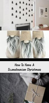 Photo of Wie man ein skandinavisches Weihnachtsfest hat – Home Decor Diy
