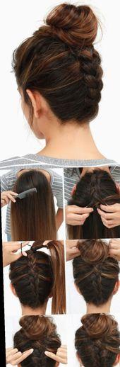 ✔ hairstyles Jugendweihe Hochsteck #dutt #haarstyle #haareflechten