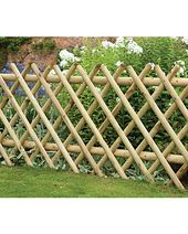 Forest Diamond Fence Panel – 8 x 3ft | Garden Ornaments & Accessories | George at ASDA