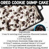 Super einfache Desserts: Einfache Dump Cake Rezepte für schnelle und köstliche Desserts für eine Menschenmenge