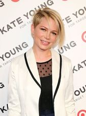 Michelle Williams' elegant new side-shaved hairstyle features Miley Cyrus and Ju …