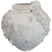 1stdibs Planter / Cachepot / Jardinière – Barnacle Sea Sponge Encrusted American Pottery