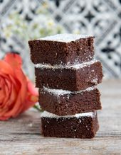 Photo of Brownies vegan with dates