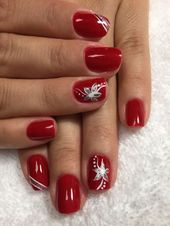 Christmas manicures