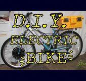 DIY Electrical Bike! #offgridpower