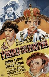 The Prince And The Pauper 1937 Erroll Flynn Claude Rains Classic Films Posters Classic Movie Posters Movie Posters Vintage