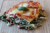 La lasagne aux épinards à la ricotta est un excellent plat végétarien qui peut être préparé rapidement …   – Kochen backen dekorieren