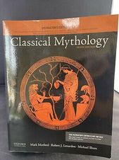 Classical Mythology Paperback By Morford Mark Instructors Edition In 2020 Classical Mythology Mythology Book Cover