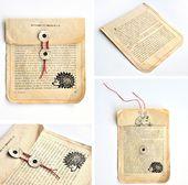 miss red fox – 12giftswithlove 01 Old book – DIY U…