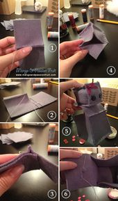How to make your own felt robot (inspired by Etsy shop Little Brown Byrd)