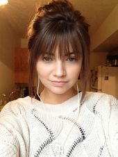 Straight bangs with short hair – make the perfect picture – #hair #short #make #perfect #straight