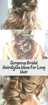 Gorgeous Bridal Hairstyles Ideas For Long Hair