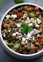 13 Mediterranean Diet Lunches That Make Meals at a Desk Way Better – Veggies/Salads