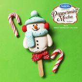 Cakesicle Cuties | Hielo satinado   – Paletas navideñas