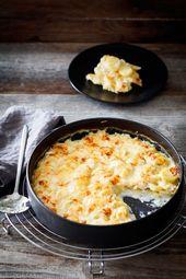 Kartoffelgratin mit Kräuterfrischkäse und Emmentaler