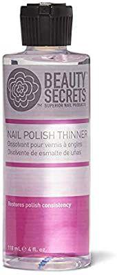Amazon Com Beauty Secrets Nail Polish Thinner Nail Polish Removers Beauty Lip Gloss Containers Nail Polish Nail Oil