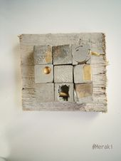 My Meraki Urban finds 02. Concrete, metal, electric cable, formwork wood …