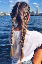 33 GLORIOUS FRENCH Braid Haarnadeln versuchen