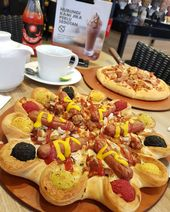 hi guys have you tried the cheese bomb yet from Pizza Hut.indonesia? You can p …