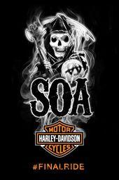 """Harley-Davidson- und """"Sons of Anarchy"""" -Fans bereiten sich auf die letzte Fahrt vor (P …   – I Want!!!"""