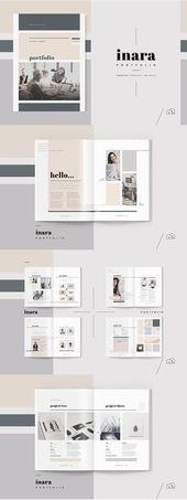 Diseño editorial   – portfolio design